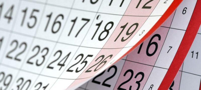 Calendari del contribuent juliol 2018
