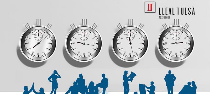 FAQS sobre el registre horari de la jornada laboral